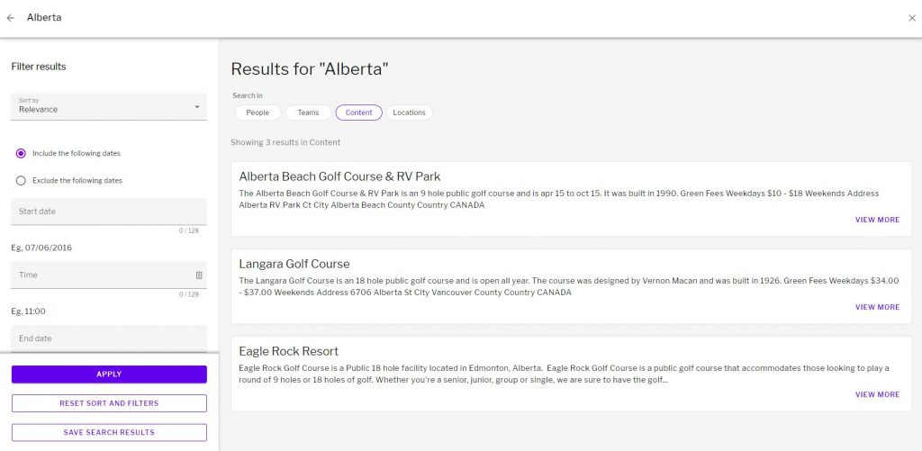 Results for the search term Alberta showing 3 results
